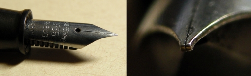 Pretty sure I have no existing pictures of the nib pre-grind
